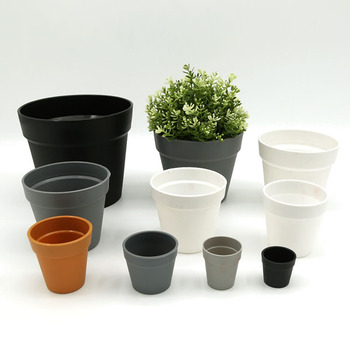 Frosted International Balcony Garden Decoration Plastic Plant Pot Plastic flower pot