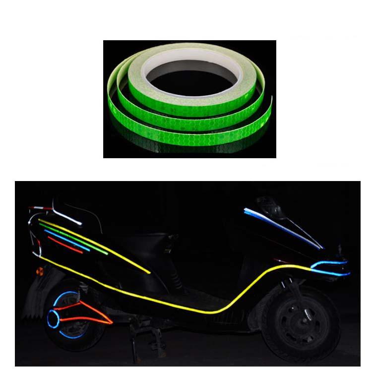Reflex Sticker Stripe Mix in 6 ColoursReflective Stickers for Bike