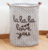 Custom art printing hampercotton folding dirty clothes storage bag waterproof laundry basket