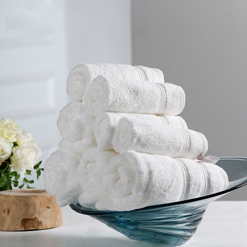 50% Off Wholesale Palais Royale White Hotel Egyptian Cotton Face Hand Bath Beach Towels,Xinjiang Hotel Towel