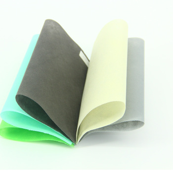 Factory supply hot sale colorful pp spunbond nonwoven fabric rolls with superior quality for bags