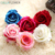 wholesale artificial silk rose heads bride wedding Dress for Adornment decoration