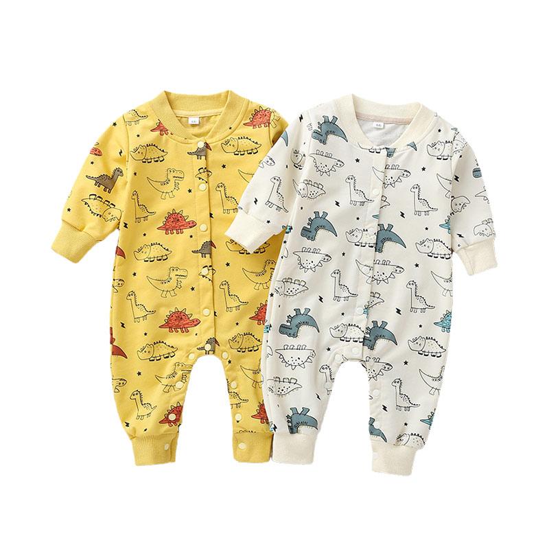 Toddler Baby Kids Girls Boy Infant Romper Jumpsuit Bodysuit Cotton Animal Cloth
