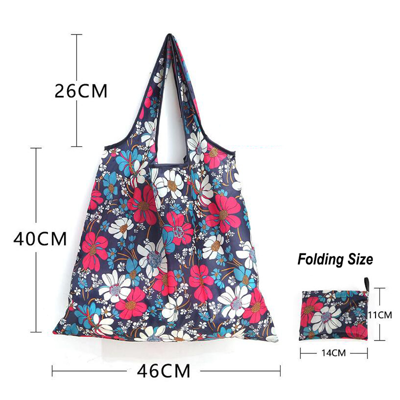 Foldable shopping bag,Custom Logo Big Supermarket sublimation reusable polyester grocery fold tote foldable shopping bag,Wholesale Eco friendly BSCI Factory Promotional foldable Superior reusable grocery foldable shopping bag