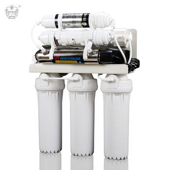 Domestic RO Alkaline Electric Mini Big 5 Stage Water Filter System With Competitive Price Water Purifier Machine