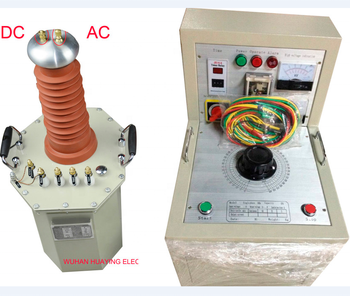 Oil Immerserd HV Testing Transformer withstand voltage tester