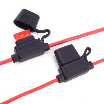 UL1015 1007 6-22 AWG Waterproof Maxi Standard Mini Inline In-Line Blade Auto Fuse Holder