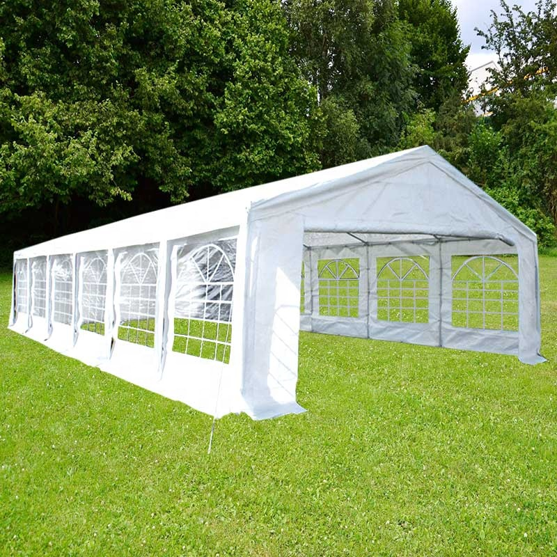 up Wedding Party Tent 2Mx2M Gazebo Marquee Canopy with Sides Waterproof