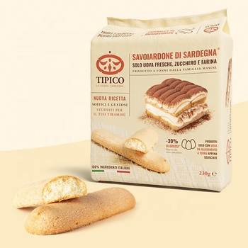Savoiardi for Tiramisu 230 gr - Italian soft lady finger biscuits
