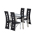 High quality modern dining room furniture set leather dining room chairs with wholesale cheap