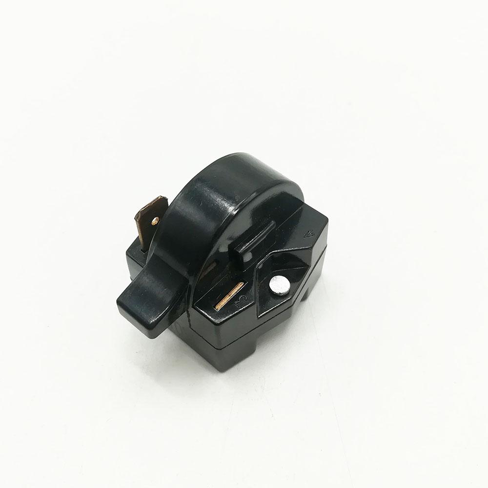 4.7 Ohm 4 Pin Refrigerator PTC Relay Black