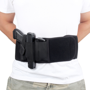 Belly Band Holster For Concealed Carry Womens/Mens Waistband Magnetic Revolver Hand Gun Holster