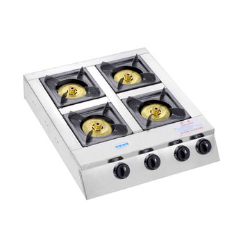 Cooking appliances gas stove 4 burners stainless steel gas cooktop