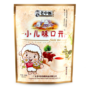 Natural bags packaging organic appetizing health herbal tea for children