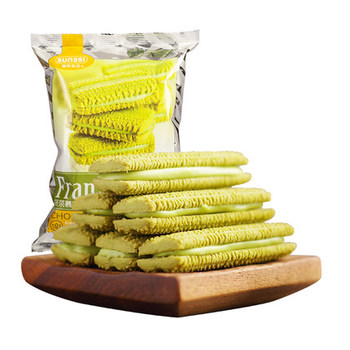Wholesale Chinese snacks sandwich cookies and biscuits multi-flavored biscuits