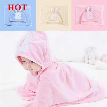 100% Cotton Children's Baby Kids Bath Hooded Towels Wash Cloth, bamboo baby hooded washcloth towel sets with animal design