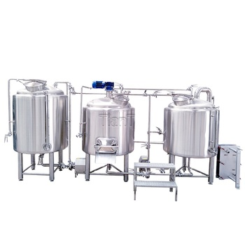 400L 4HL 3 bbl Steam Heating 2-Vessel Semi-Auto Small Brewing Systems