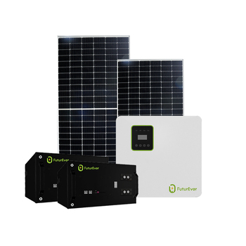 Futurever 5kw 30 kw Commercial Industrial On Grid Solar System