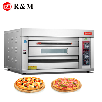 Single deck gas pizza oven commercial price,one deck pizza baking machine commercial cooking baking best gas oven pizza gas oven