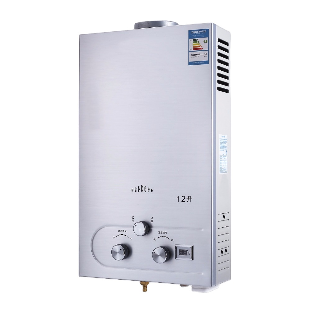 VEVOR Calentador de Agua El/éctrico 1 kW 2 kW Calentador de Agua Calentador de Agua Instant/áneo El/éctrico 68 L Rango de Ajuste de Temperatura 30-75 ℃ Presi/ón de Agua de 0,7 MPA para Montado en Pared