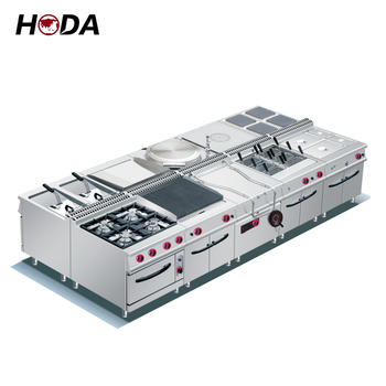 Guangzhou china professional commercial kitchen equipment stainless steel fast food hotel catering restructure kitchen equipment