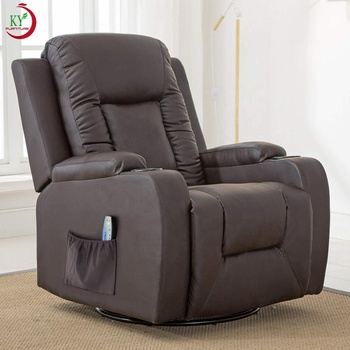 JKY Furniture Adjustable Relaxing Manual Living Room Recliner Chair With Massage Function