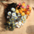 Europe Colorful  Artificial Flower Home Decoration 15Heads PE Daisy Flower