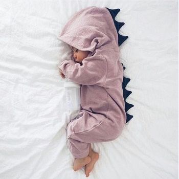 Adorable Dinosaur Newborn Baby Clothes Organic Baby Romper
