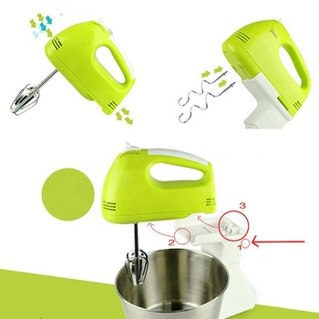Electric Egg Beater Hand Held Mixer Blender Stand Mixer Food With Rotating Bowl Multifunctional Mixer Stand Cake