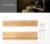 Natural Bamboo Wall Shelf unit Wall Mounted Shelves units Display Rack With Metal Hooks