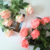 Home Wedding Decoration Artificial Royal Blue Real Touch Rose Silk Flowers