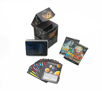 Custom Paper Material game card printing pokemon cards printing