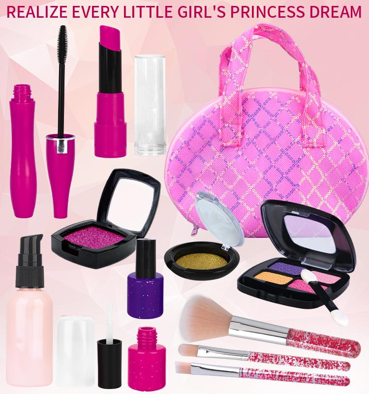 Hot Selling Kids Educational Toys Girls Princess Makeup In Toy For Girls Makeup Kit Set