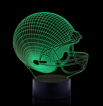 3D Lamp Football Helmet SPORT Gifts for Boys GREAT football 3D Light for Kids DECORATION Baby Night Light GREAT Birthday Gift
