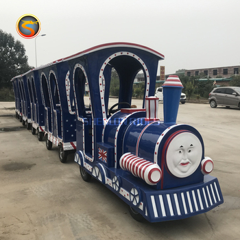 Thomas Train Trackless Ride Electric Trackless Train Children Sightseeing Thomas Train
