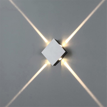 Led wall lamp bedside wall lamp modern simple creative corridor hotel cross star wall <strong>light</strong>