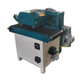 Fully automatic woodworking multi chip saw fine wood processing equipment