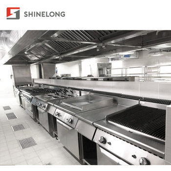 Full Set Professional Hotel Restaurant Buffet Commercial Kitchen Equipment in China