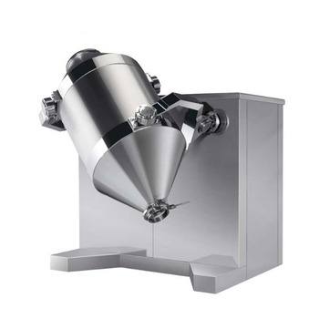 stainless steel drum rotator mixer for coffee beans/Pharma Machinery Protein Powder 3D Directional Rotating Mixer