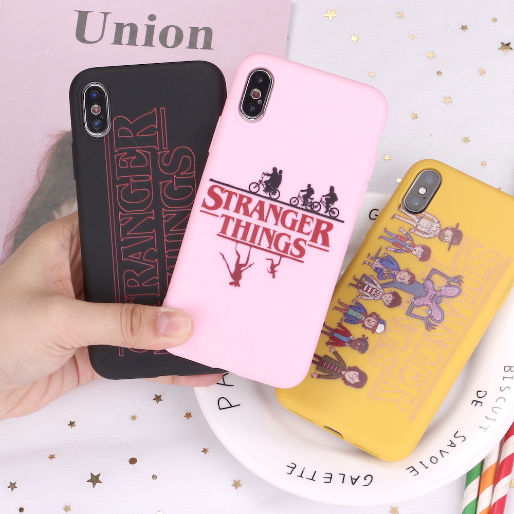For Iphone 12 11 Pro 8 8plus X Xr 7 7plus Xs Max Stranger Things Eleven Comics Candy Silicone Soft Phone Case Coque Funda - Buy Stranger Things Eleven ...