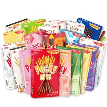 Wholesale Pocky stick biscuits pocky chocolate cookies Chinese snacks