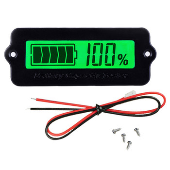 LY6W 12V Battery Capacity Tester LCD Display Battery Monitor Indicator for Electromobile Balance Car Medical Equipment