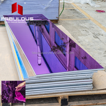 4 x8 perspex sheet purple color one way acrylic mirror sheets laser cut self adhesive available