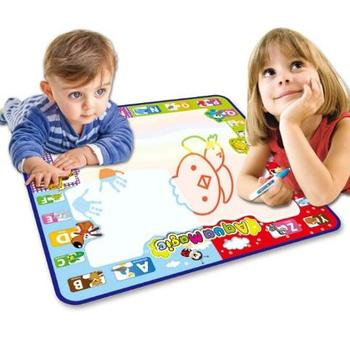 Toys 2020 Education Toy Kid Magic Pen Doodle Water Drawing Mat for Kids