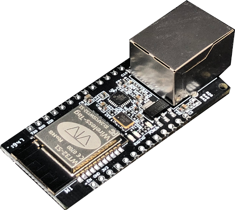 Módulo De Gateway Embutido,Módulo Ethernet Pcba Wt32-eth01 V1.2 Wifi E Ble  Módulo De Combinação Placa De Desenvolvimento Esp32 - Buy Wi-fi Embutido  Módulo Ble Com Base Em Esp32 Chip,Pcb Módulo Ethernet Baseado