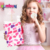Simulation dress up cosmetic bag game pretend play petty girls makeup kit toy