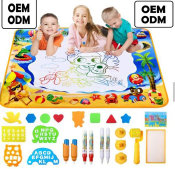 amazon hot selling water Doodle Mat Large Aqua magic Water Drawing Mat for children Aqua mat for Kids drawing Toys