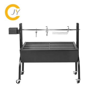 Spit Roaster Lamb Grill With Electric Auto Skewers