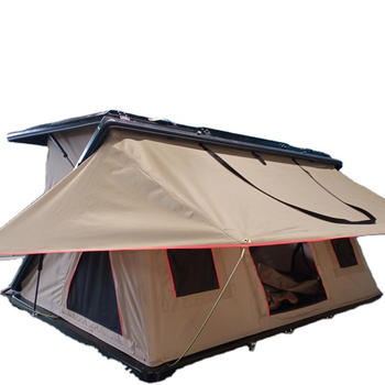 Tent Roof Stove Jack Tent Roof Pop Up Aluminium Roof Top Tent For Off-Road Expedi