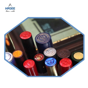 PVC Heat Shrink wine bottle Capsule or aluminium wine bottle caps for wine or food or beverage industry from China
